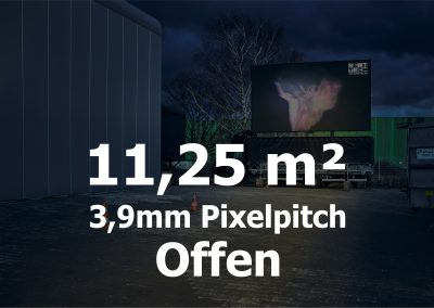 11qm – Offener LED-Trailer – 3,906m Pixelpitch