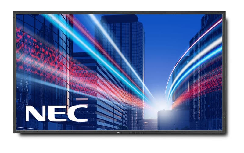 "NEC MultiSync V801  LCD, 80"", Full HD"
