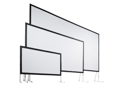 Leinwand – 8,20 x 3,40m – Aufprojektion