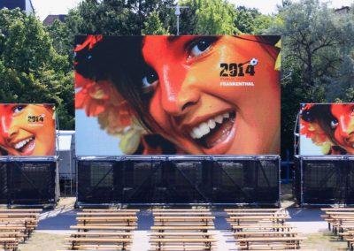 LED-Screens PublicViewings Fussball WM EM Sportereignisse